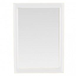 White Cube Wall Mirror