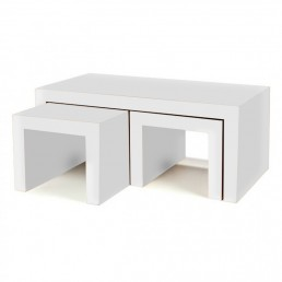 White Cube Coffee Tables