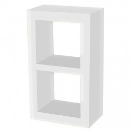 White Cube Storage Shelf