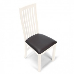 White Cube Dining Chair (Pair)