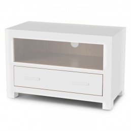 White Cube Small TV Unit