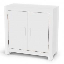 White Cube Storage Cabinet