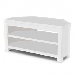 White Cube Corner TV Unit