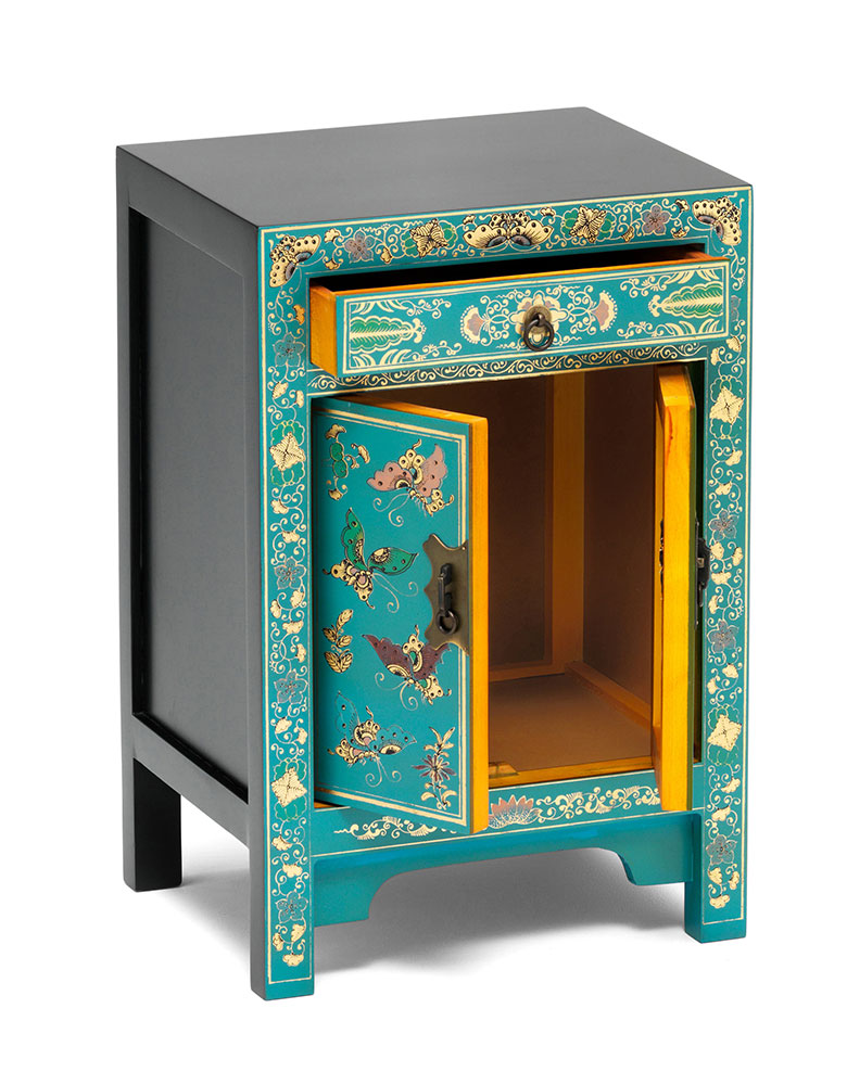 Chinese Decorated Cabinet Small