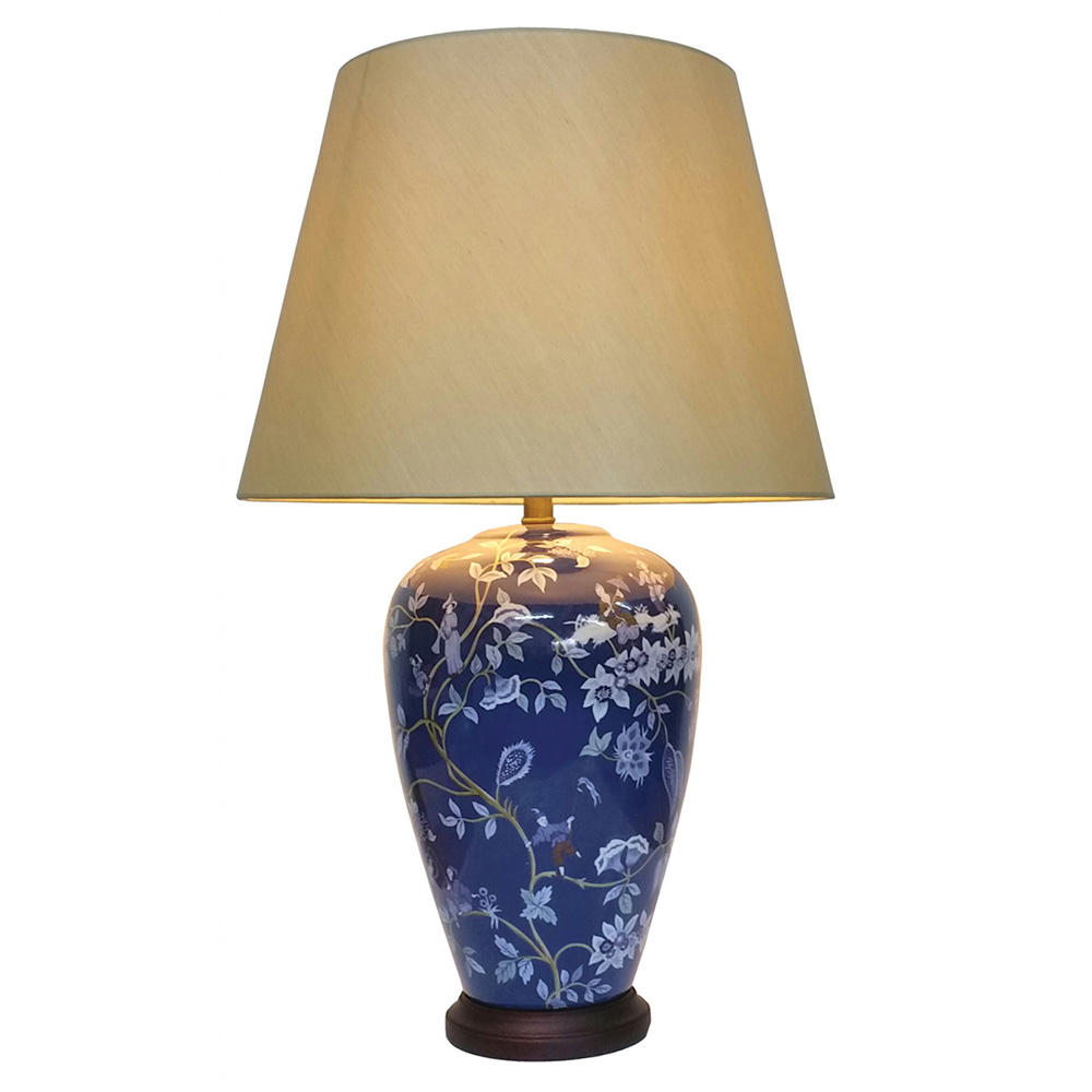 chinese table lamp pair. Black Bedroom Furniture Sets. Home Design Ideas