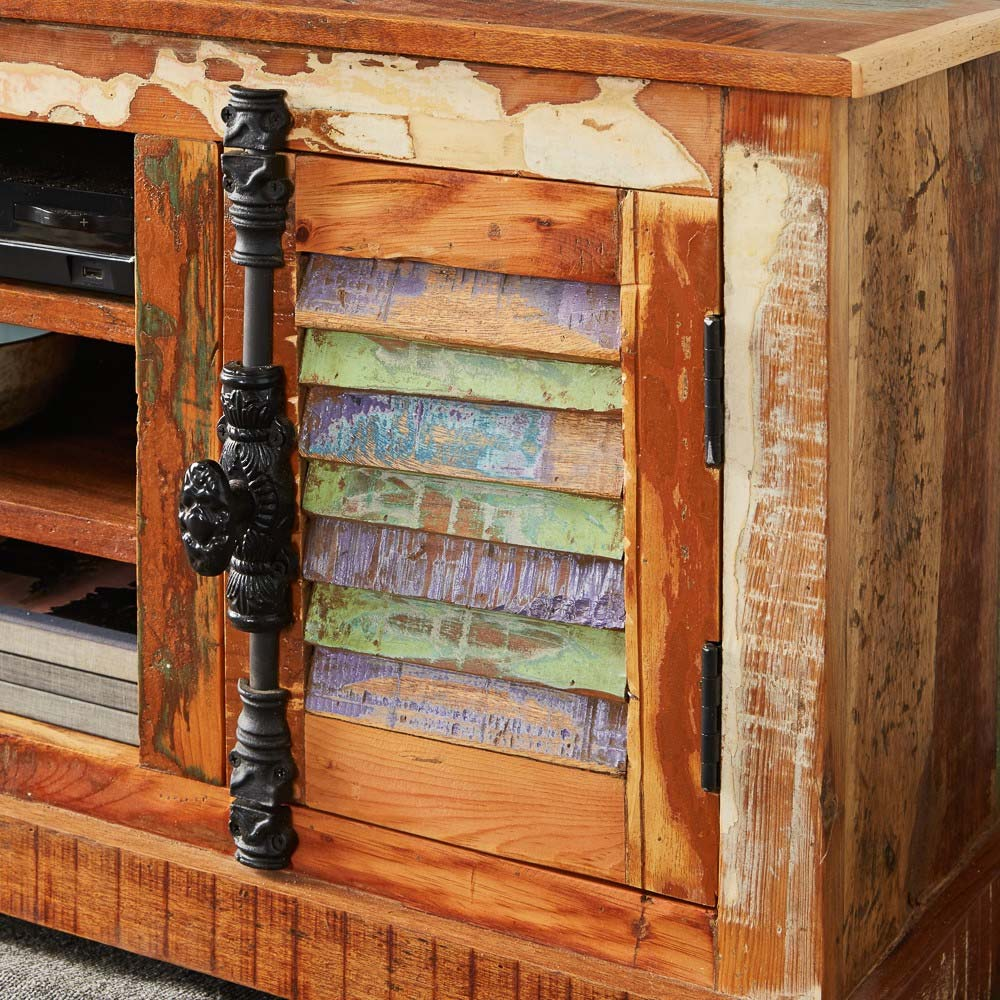 Coastal Wood Sideboard