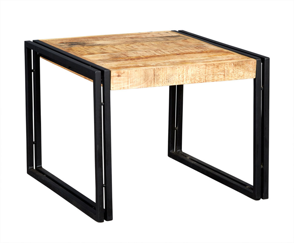 Cosmo Industrial End Table