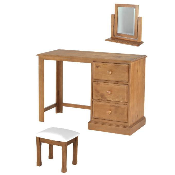 Hendon pine dressing table set