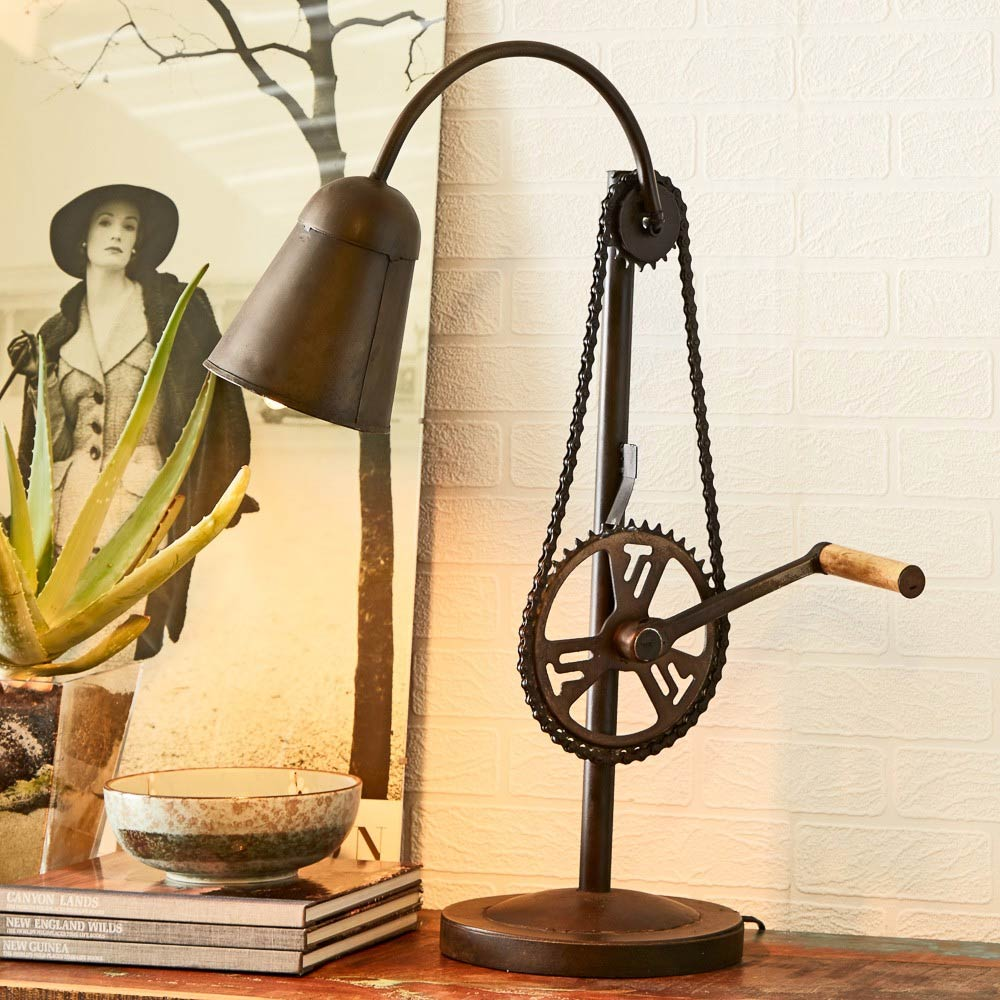 Cycle Chain Table Lamp