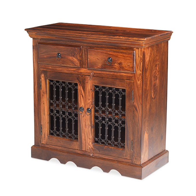 Jali 2 Drawer Small Sideboard