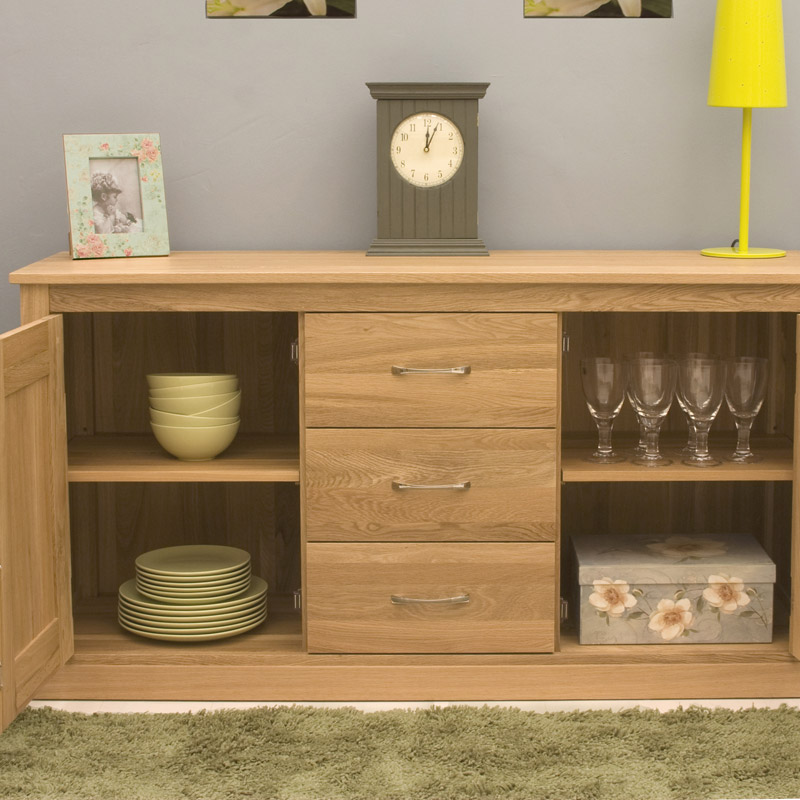 Mobel oak sideboard large for Mobel asia style