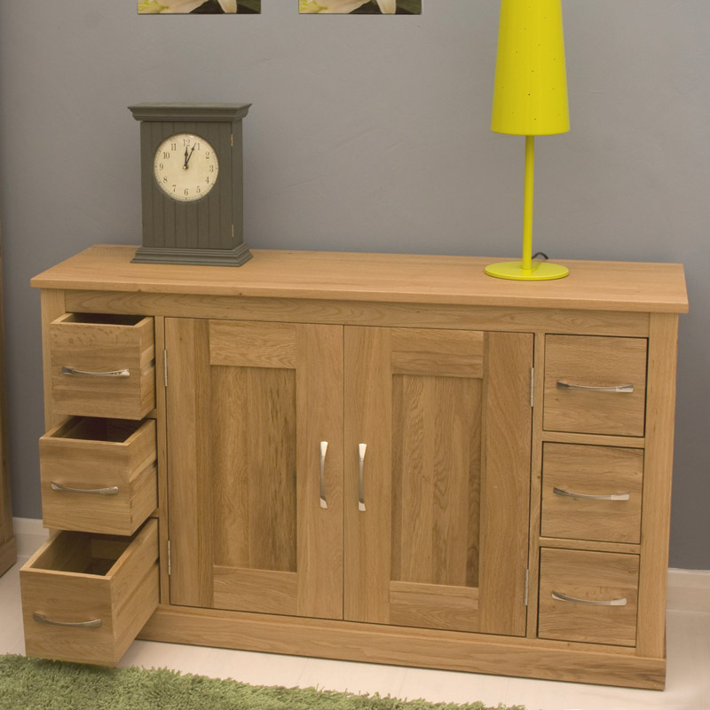 Contempo oak sideboard for Mobel asia style