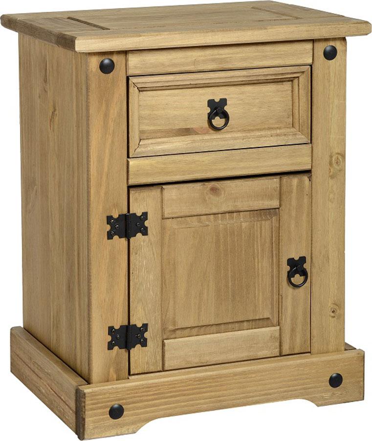 Onil Pine Bedside Cabinet