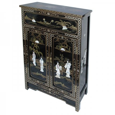 Chinese Lacquer Cabinet