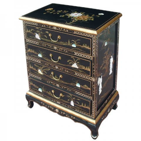 Lacquer Chest of Drawers