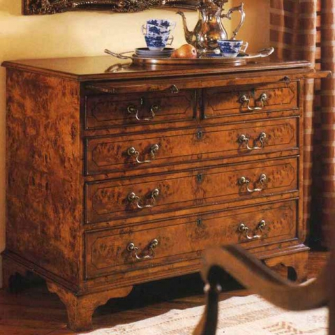 Walnut English Medium Chest