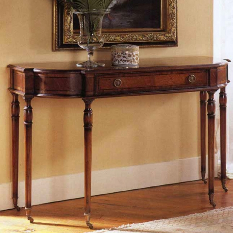 Walnut English Writing Desk