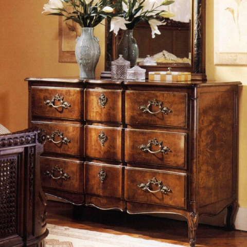 Walnut French Chest