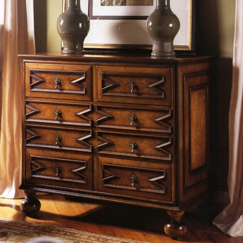 Walnut William And Mary Bureau