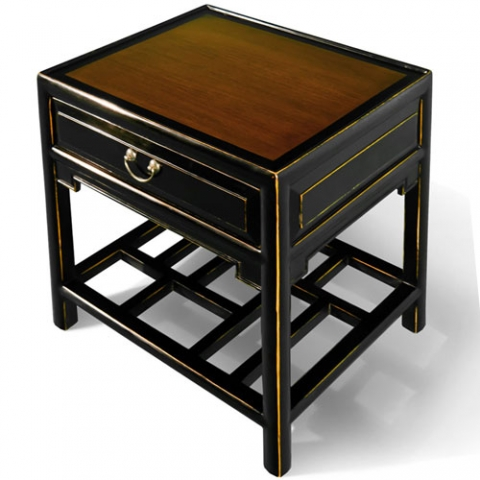 Qing Chinese End Table