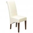 Cuba Cube Leather Chair Beige