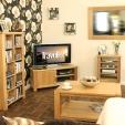 Aston Oak Corner TV Cabinet