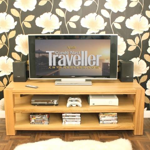 Aston Oak TV Cabinet