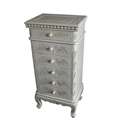 Lindenwood White Tallboy Chest
