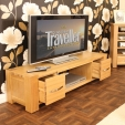 Aston Oak TV Cabinet