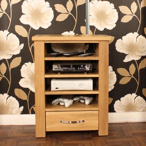 Aston Oak Media Cabinet