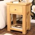 Aston Oak Lamp Table