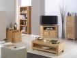 Cuba Cube Oak TV Cabinet