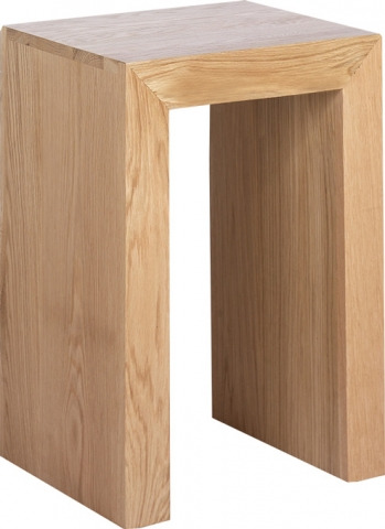 Cuba Cube Oak Table