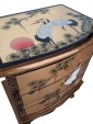 Chinese Gold Lacquer Chest Small