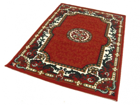 Chinese Rug - Red