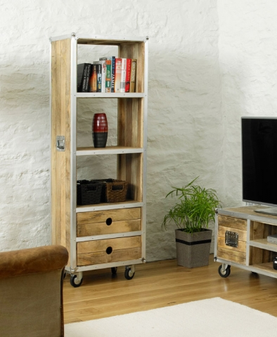 Roadie Chic Tall Bookcase
