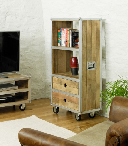 Roadie Chic Low Bookcase