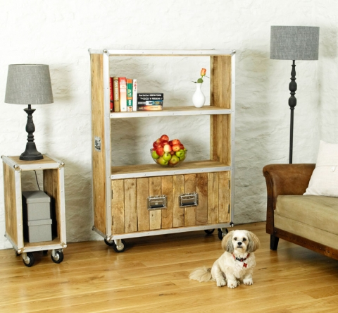 Roadie Chic Large Bookcase