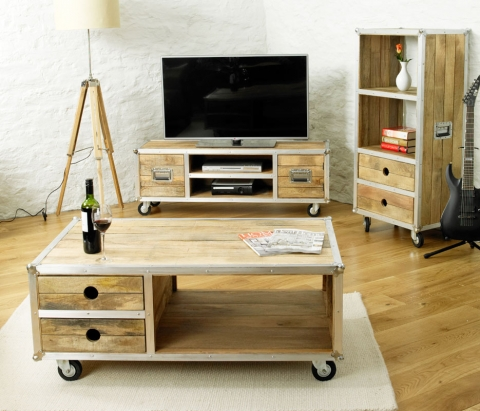 Roadie Chic Open Coffee Table