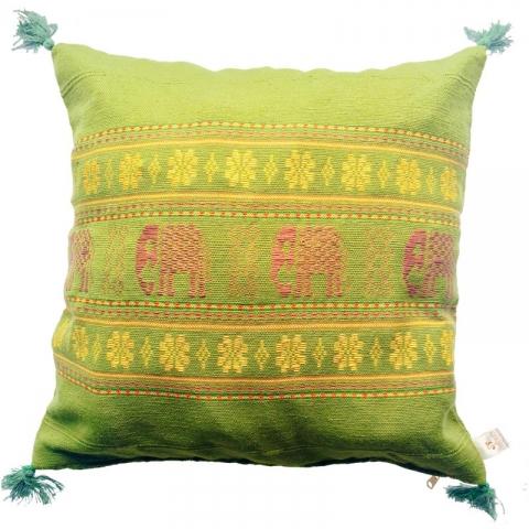 Thai Elephant Cushion Cover