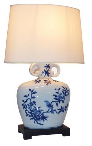 Ashmolean Zhi Que Lamp (Pair)