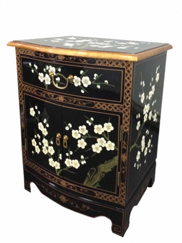 Chinese Blossom Bedside Cabinet