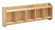 Amelie Oak Wall Shelf