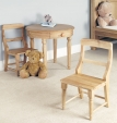 Amelie Oak Children's Play Chair