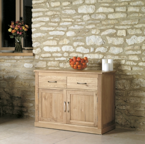 Mobel Oak Small Sideboard