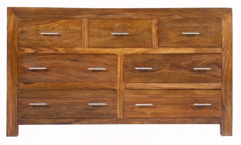 Cuba Cube Sheesham Chest