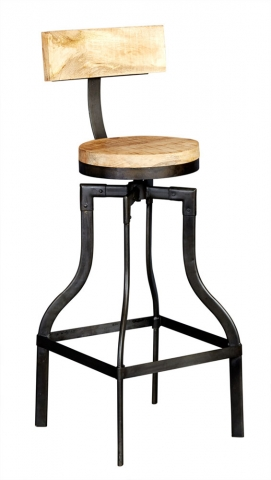 Cosmo Industrial Bar Stool