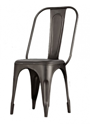 Cosmo Grey Metal Chair