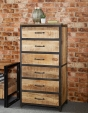Cosmo Tall Industrial Chest
