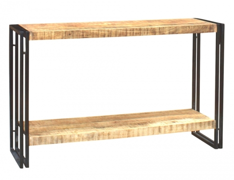 Cosmo Industrial Console Table